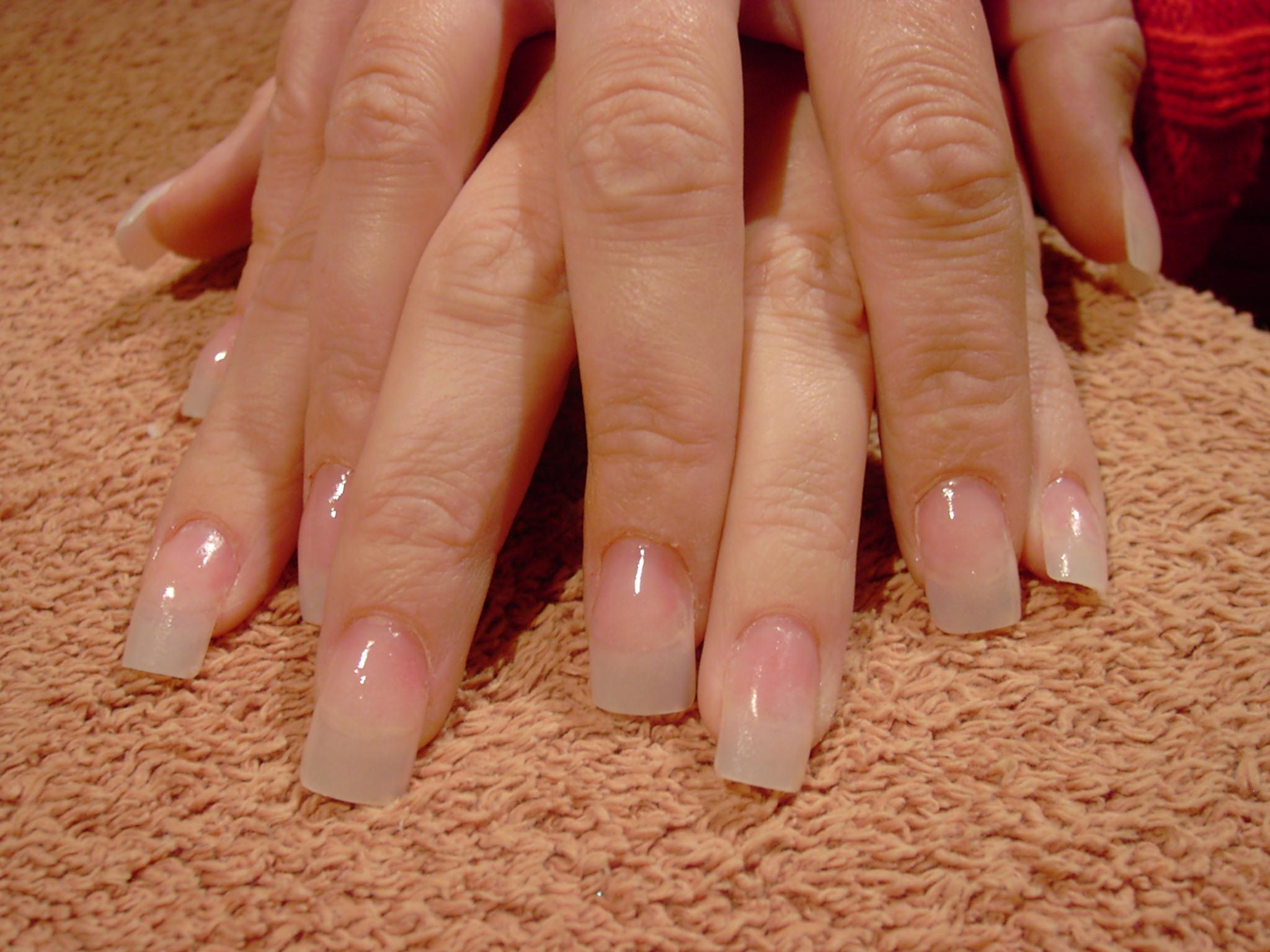 Organic Acrylic Nails Designs
